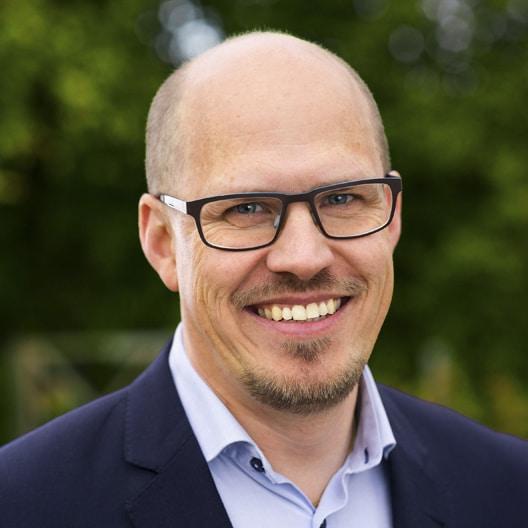 Martin Olsson, vd för skåneföretaget Nimo-KG