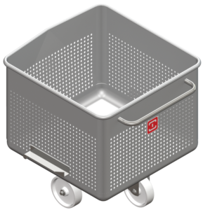 Perforated trolley