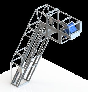Z-lift skräddarsydd maskin